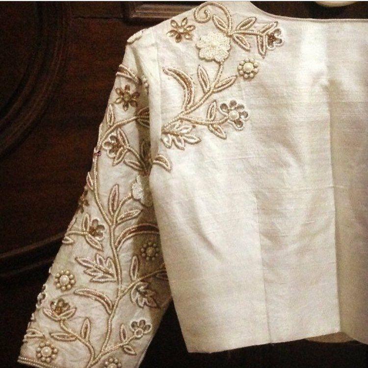 Pin de Priya Payel en Blouses   Pinterest   Bordado, Chaquetas y Blusas