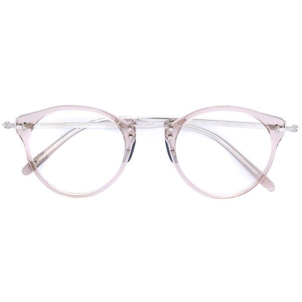 Oliver Peoples OP-505 round frame glasses (529.305 CLP) ❤ liked on ...