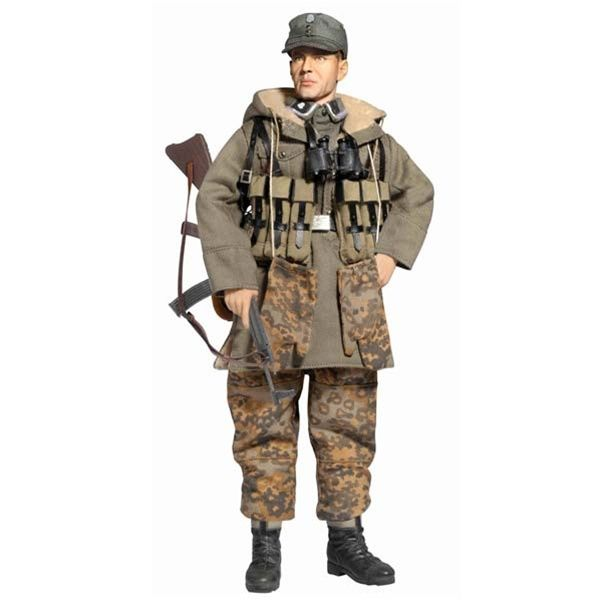 Dragon German elite force jacket /& trousers private 2 1//6th scale toy accessory