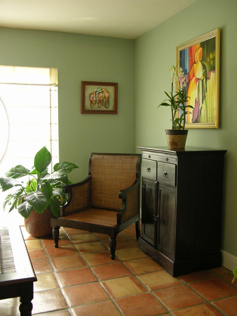 Saltillo Tile For First Floor Spanish Feel Design