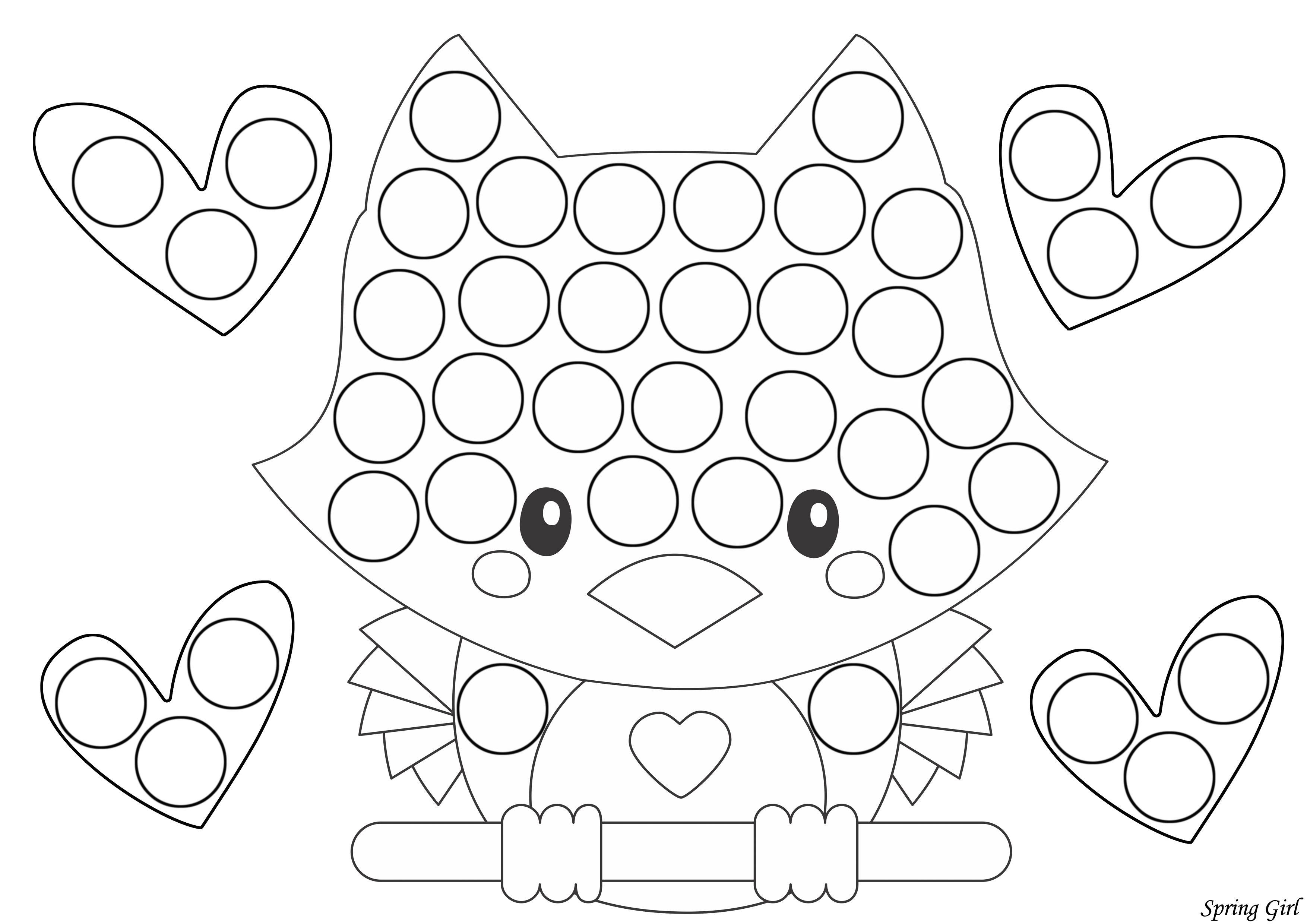 Valentine S Day Do A Dot Printables In