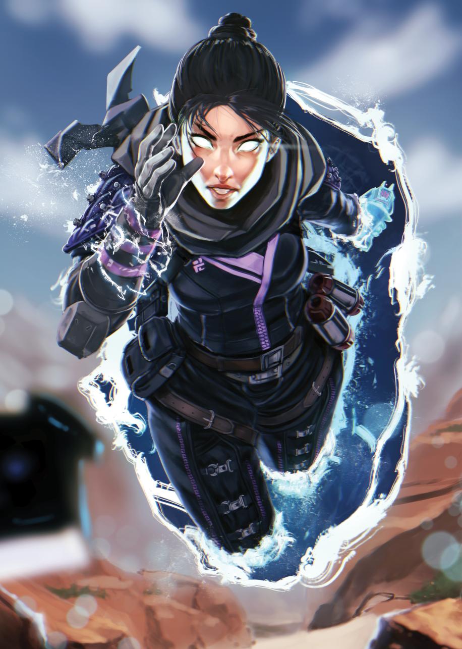 Wraith Character Design Legend Apex