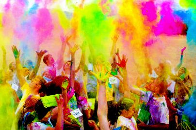 Color Me Rad. Can't wait till Saturday!