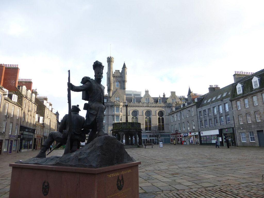 Gordon Highlanders Monument Castlehill Aberdeen Monument Street View Highlanders