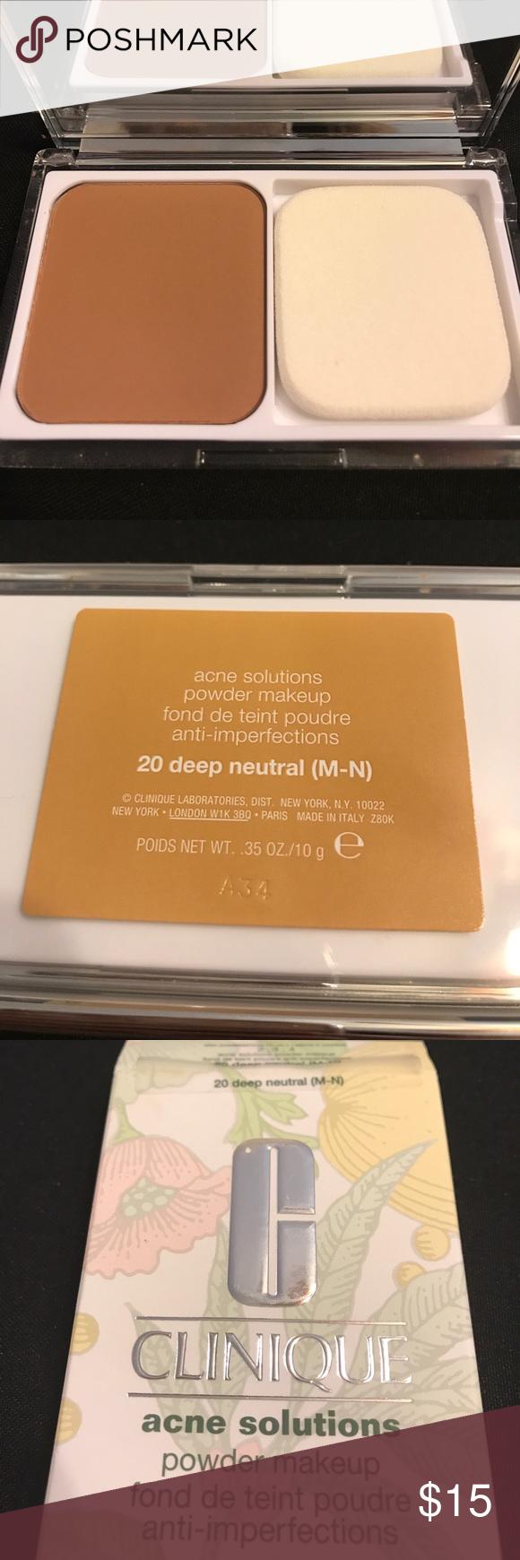 Clinique 20 Acne Solutions Powder. New Deep MN Clinique