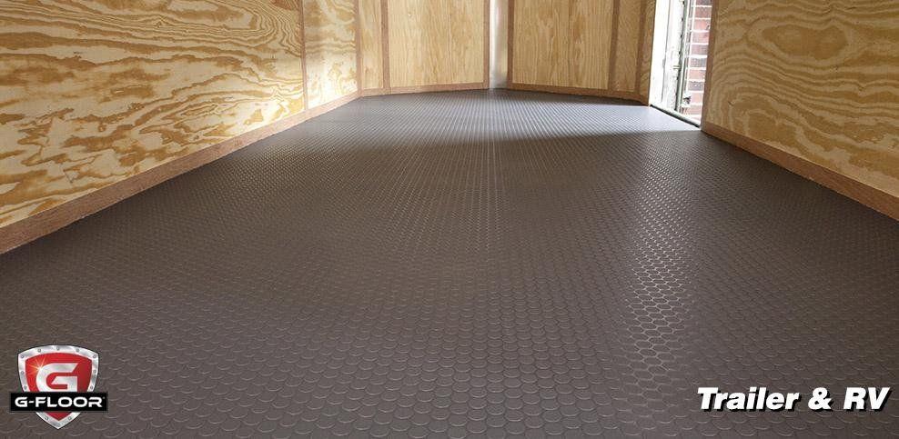 G Floor Roll Out Trailer Floor Covering Vinyl Floor Covering Vinyl Flooring Vinyl Garage Flooring