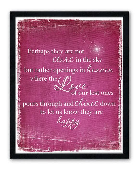 Perhaps they are not stars in the sky, but rather openings in heaven... I love this!  Beautiful!