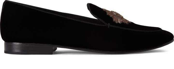 97b406ae0b Ralph Lauren Camden Bullion Velvet Loafer | Products in 2019 ...