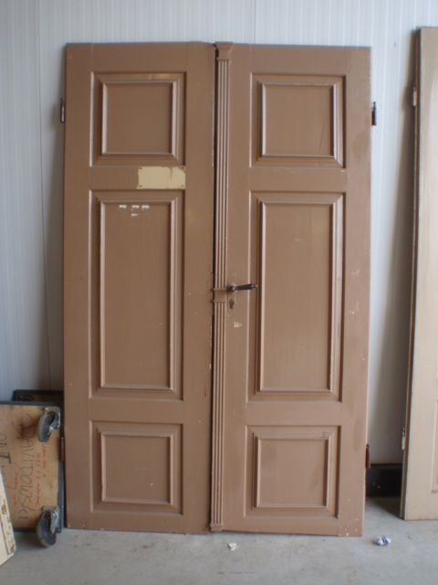 3 x sets of antique wooden doors Miscellaneous Davidowski European Antique Pine Furniture wholesale Holland