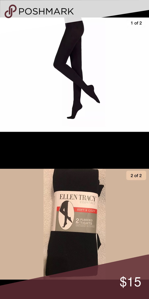 d70457e01c6e1 Ellen Tracy essentials 2pair ladies fleece tights S/m 2 pair of fleeced  tights If you have any questions please don't hesitate to ask Ellen Tracy  Pants ...