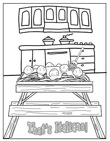 Free Printable for Strega Nona by Tomie dePaola
