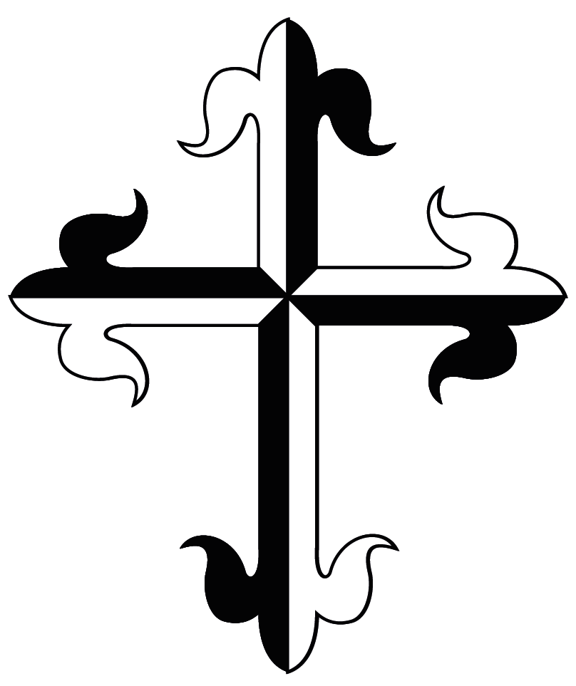 Dominican Cross Symbol The Dominican Cross Is A Gyronny Cross Of