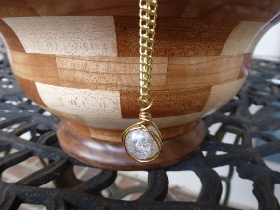 Grand opening sale gorgeous white ball crystal by BlomBlomDesigns