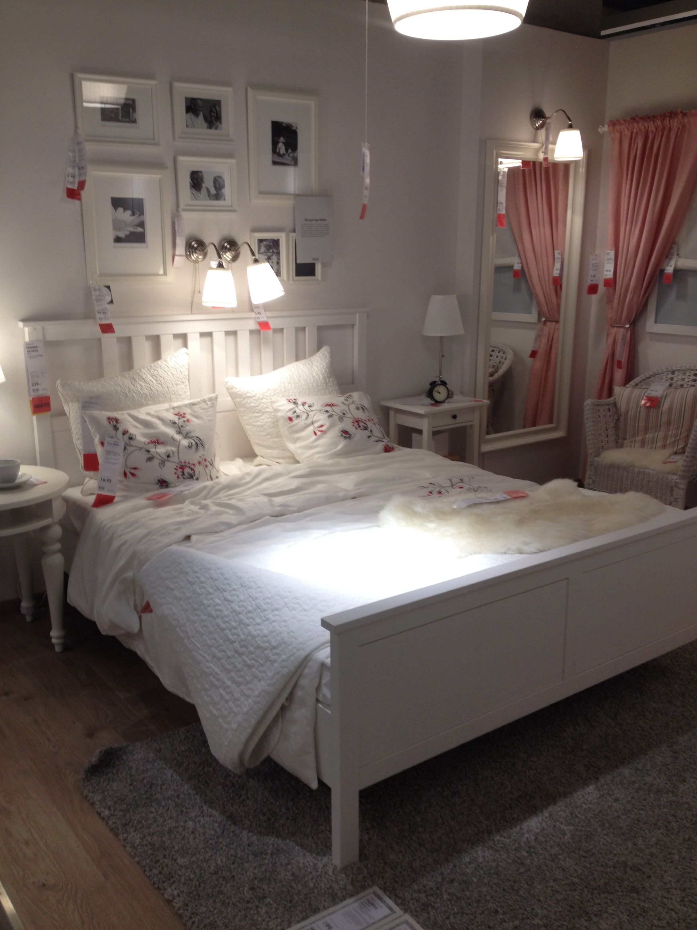 White Ikea Hemnes Bed :-)