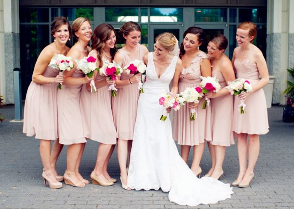 How To Choose The Right Bridesmaid Dresses For Your Wedding Day Blushbridesmaidsdresses Tulleandchantilly