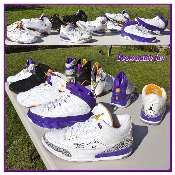 Kobe Bryant Air Jordan PE Collection