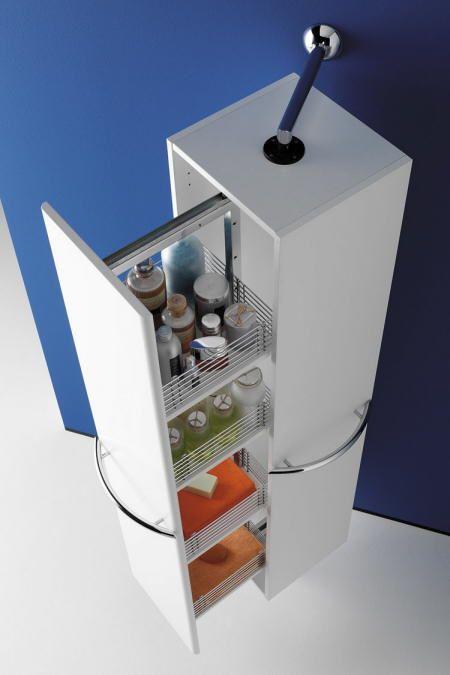 muebles para baños pequeños modernos consejos de decoración ... - Muebles Toalleros Para Banos