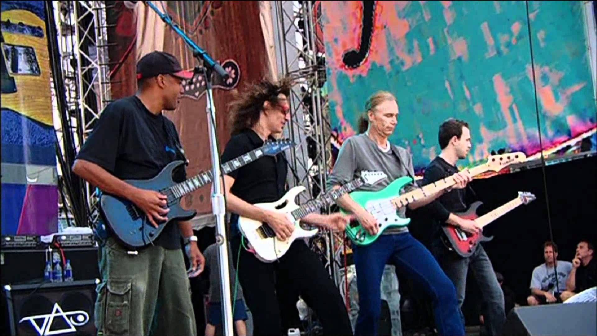 Steve Vai Incredible Guitar Performance Hd Steve Vai Billy Sheehan Tony
