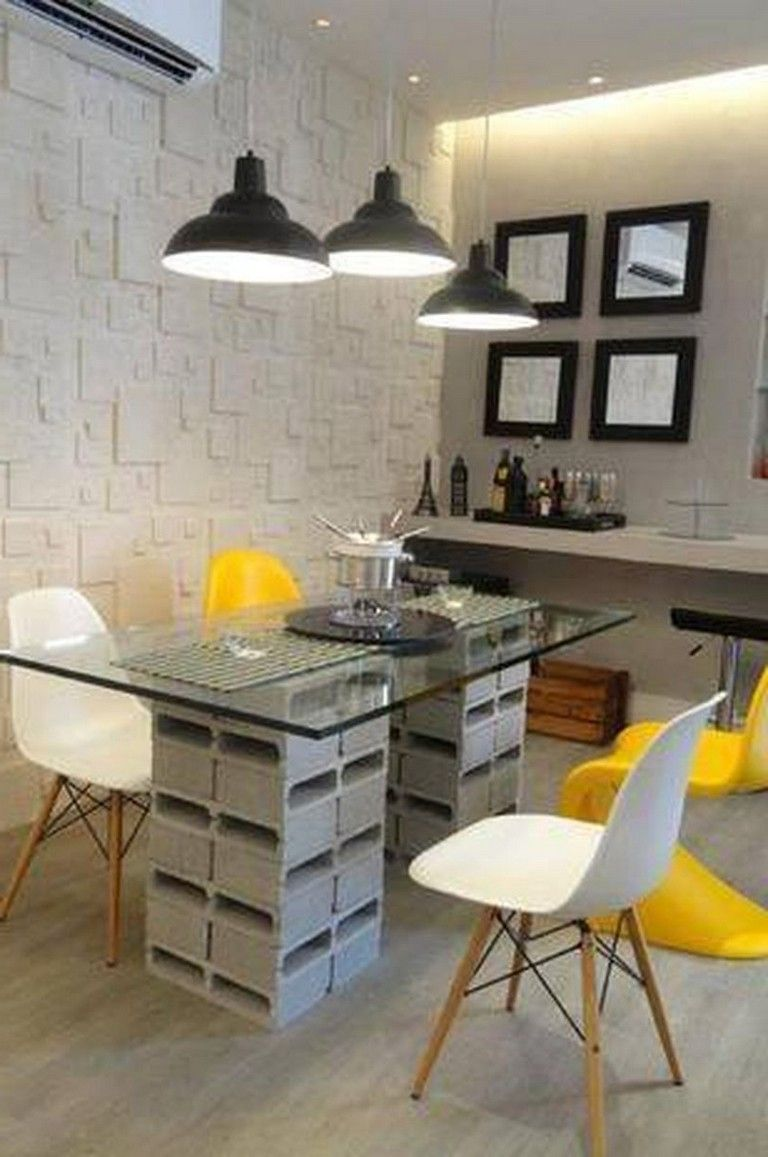 simple ideas to make bricks blocks look awesome in your home decorating decoratingideas decor also rh pinterest