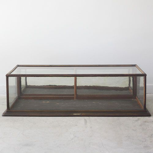 Antique Wood And Glass Table Top Display Cabinet With Mirrored Back R T Facts 860 927 1700 How To Antique Wood Table Top Display Glass Top Table
