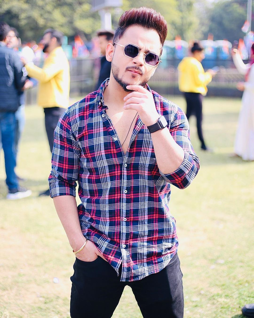 Millind Gaba in 2020 Men casual, Casual button down