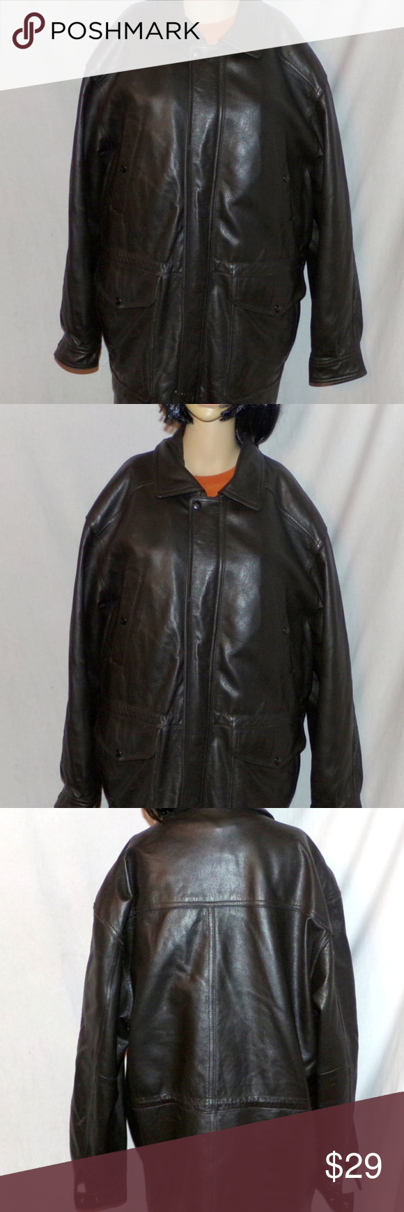 Reed Leather Jacket Coat Removal Liner Thinsulate Insulated Leather Coat Men S Thinsulate Insulated Winter Coat Heavy Winter Coat Leather Jacket Leather Coat [ 1740 x 580 Pixel ]