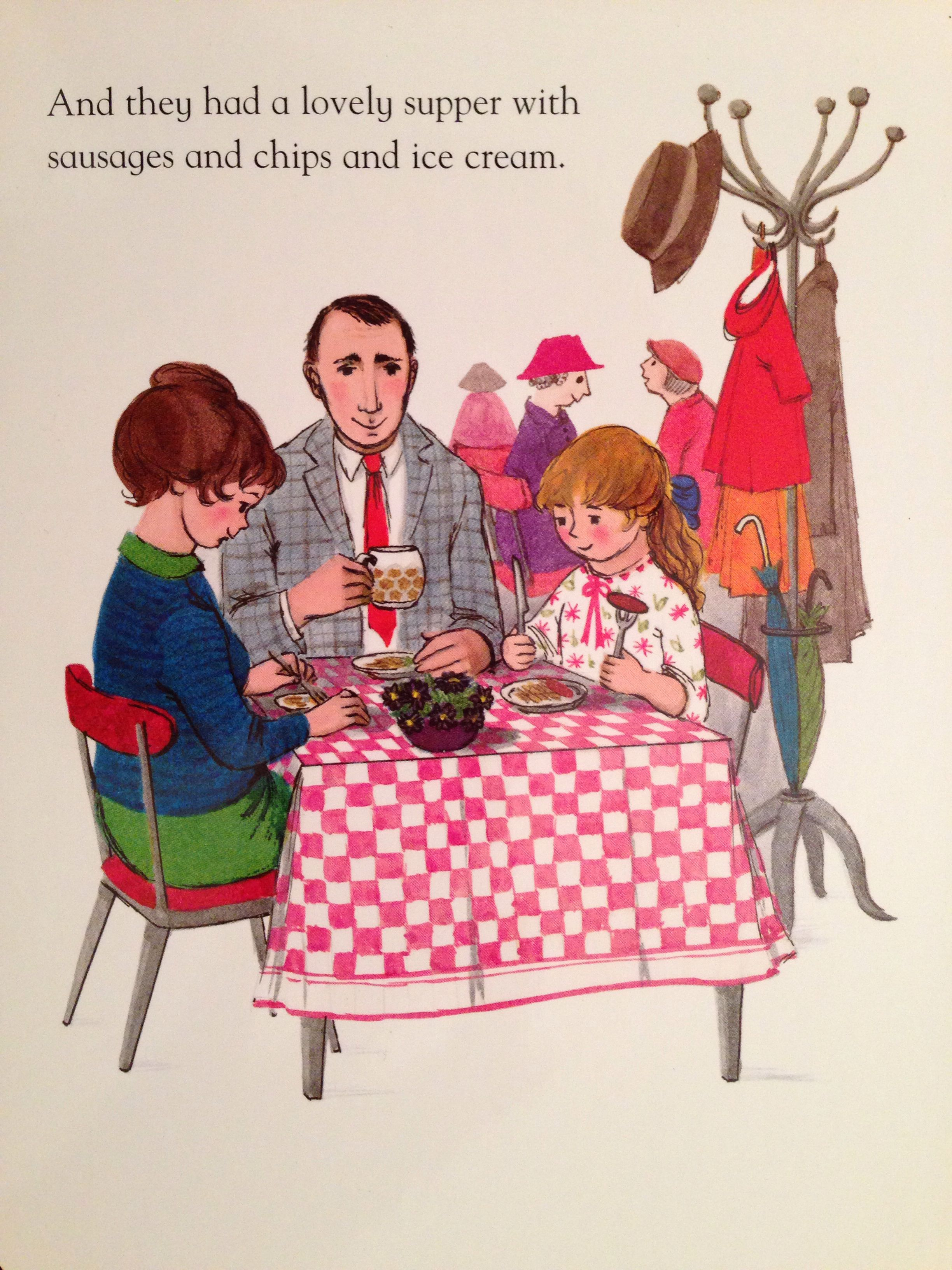 The Tiger Who Came To Tea By Judith Kerr Tea Illustration Vintage Illustration Children S Book Illustration