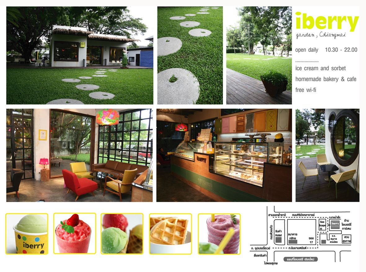 Eclectic and cozy, come for ice cream and blended fruit beverages- iBerry