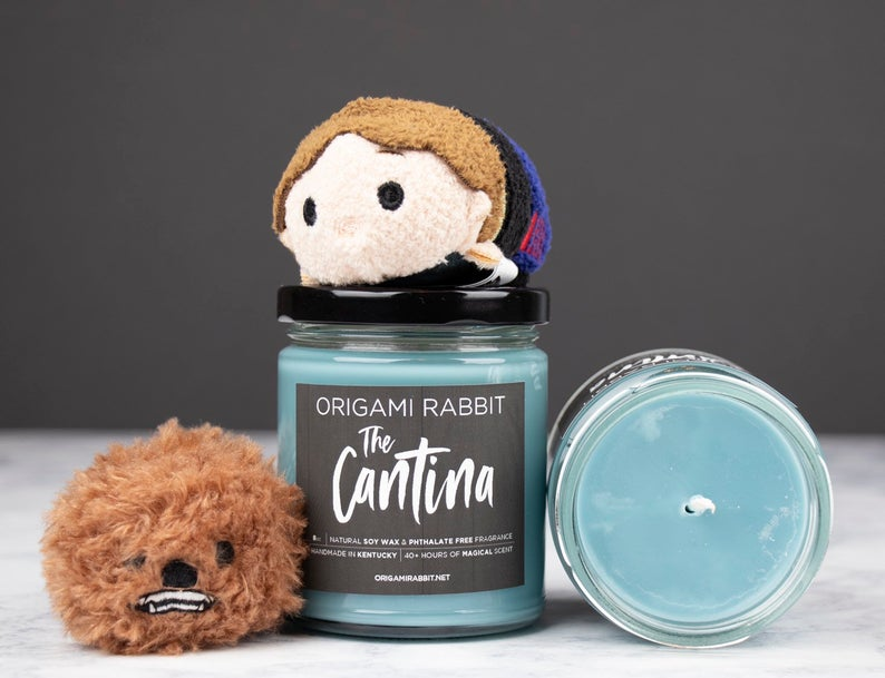 The Cantina  Galactic Inspired 8oz Soy Wax Candle