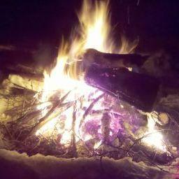Fire Good!!     In the mountains, Otter Creek Wilderness Area, near Elkins, WV.