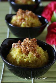 Allez Cuisine Luciebreton Ketan Kuning Serundeng Makanan Cemilan Resep
