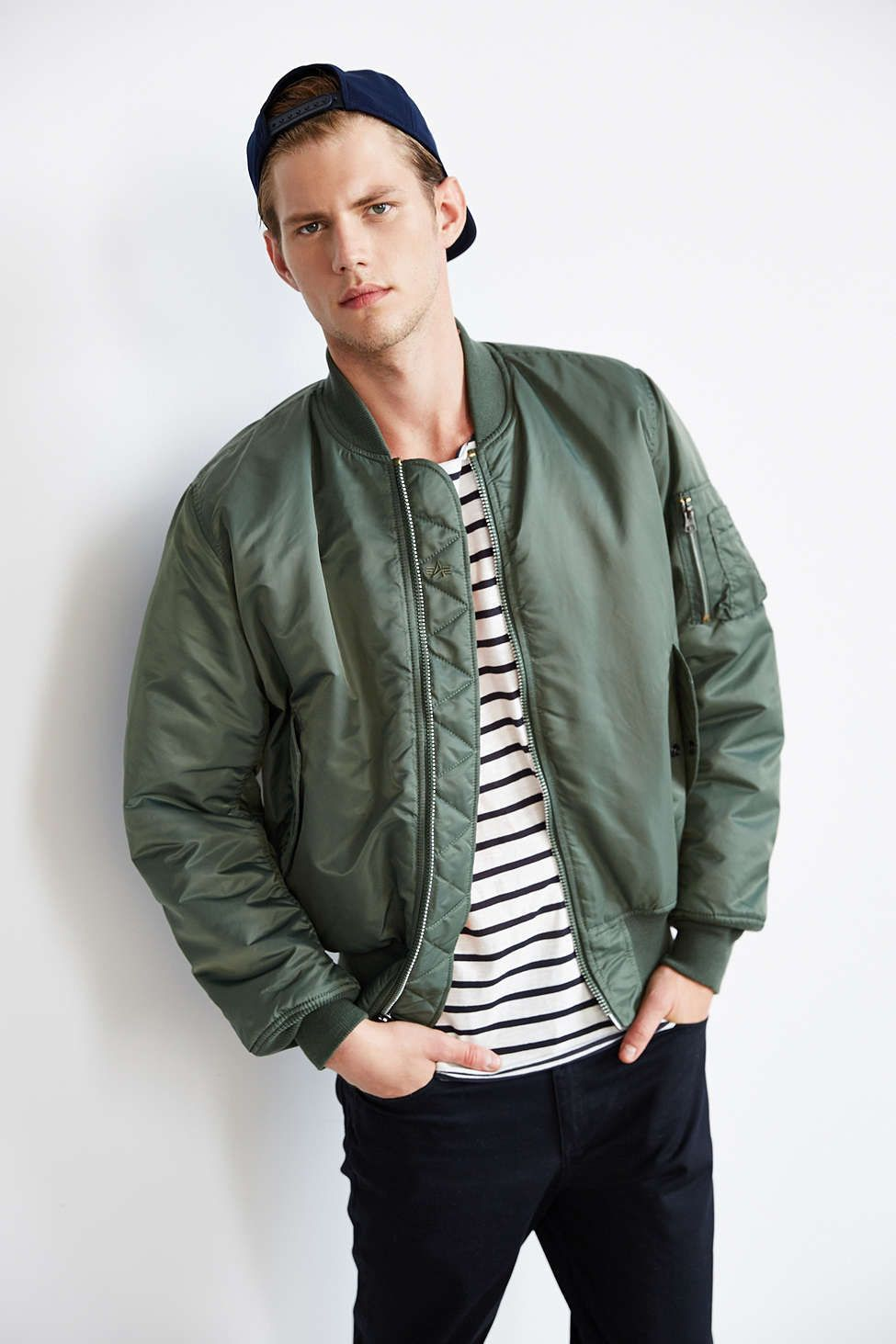 Alpha Industries Classic MA1 Bomber Jacket | Urban outfitters ...