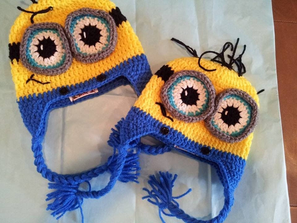 Tutorial how to crochet 9 12 month old minion beanie by sabrina tutorial how to crochet 9 12 month old minion beanie by sabrina dt1010fo