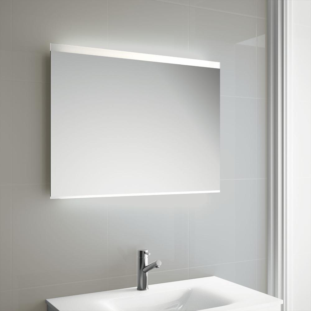 Miroir Lumineux Led Salle De Bain Horizontal Ou Vertical De 80 A 95x60 Cm Roma Miroir Lumineux Led Miroir Lumineux Et Miroir Salle De Bain