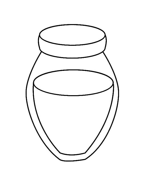 Honey Jar Coloring Pages Bulk Color Honey Jar Coloring Pages Jar