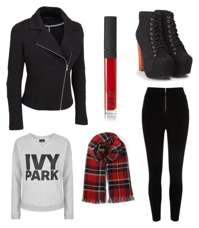 """Untitled #317"" by katiestjean on Polyvore featuring Jeffrey Campbell, River Island, Topshop, NARS Cosmetics and plus size clothing"