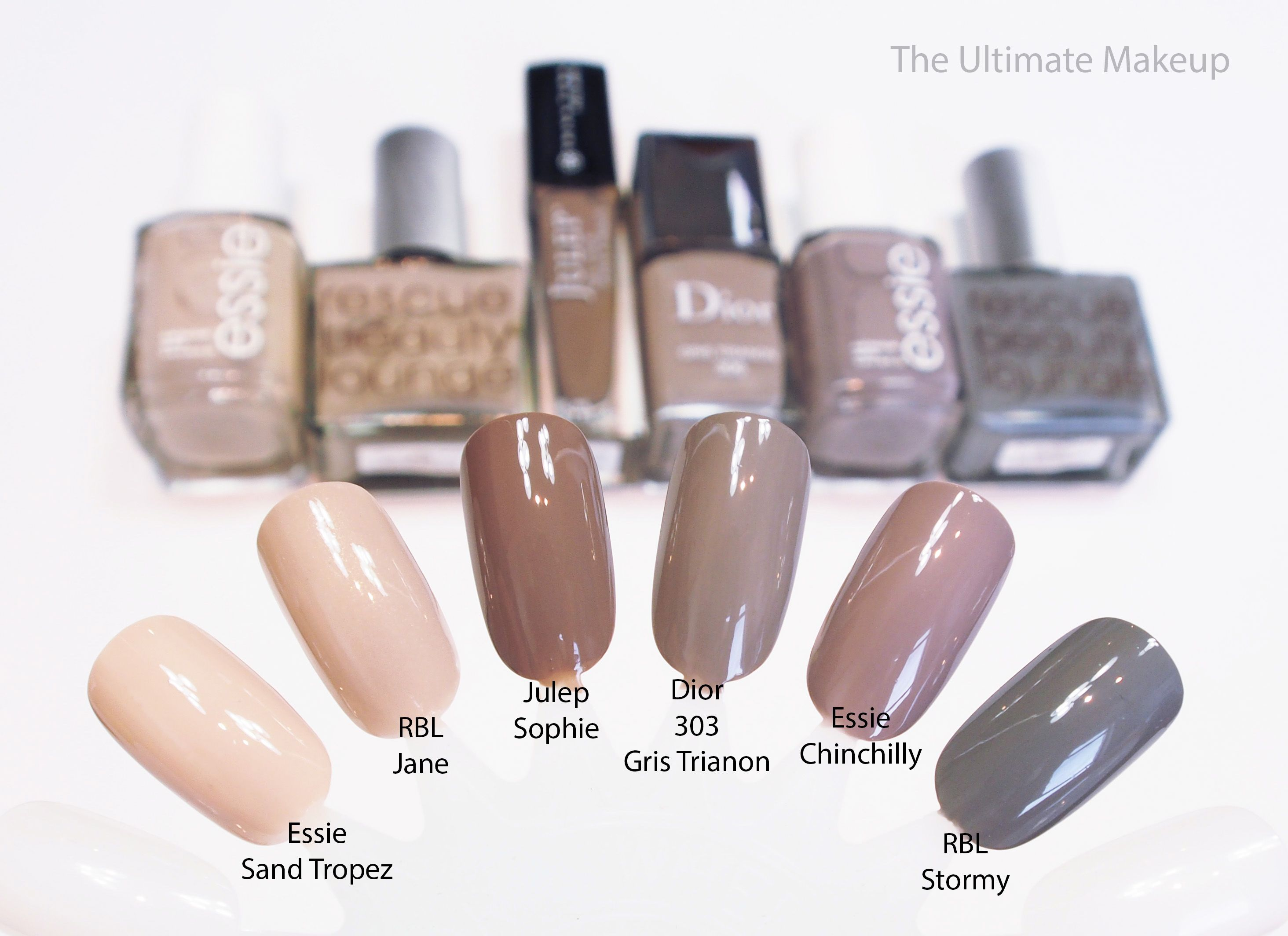 ec230628d74 Dior Vernis Nail Lacquer in 306 Gris Trianon Dupes Comparisons Swatches