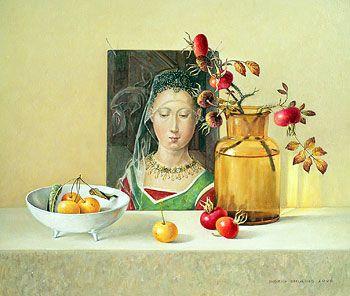 Rozenbottels voor Salomé 2006 (28 x 32,5 cm)