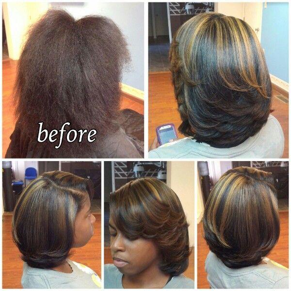 Highlights Trim And Silk Press Silk Press Natural Hair Natural Hair Styles Natural Hair Styles Easy