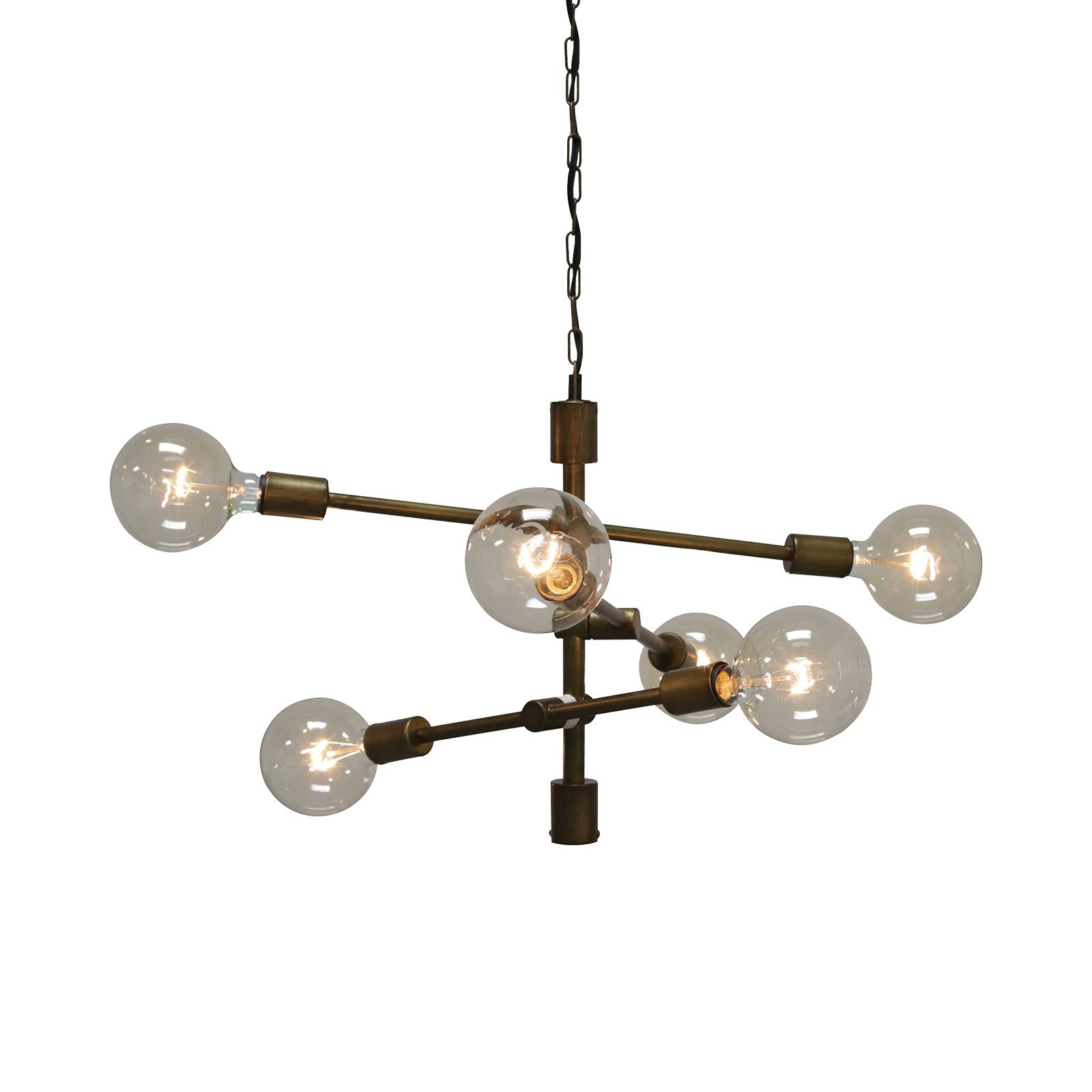 Accessorize a chic modern workspace or entryway with this handsome boasting a minimal metal crafted design this drue hanging chandelier will make a stylish addition to industrial chi arubaitofo Image collections