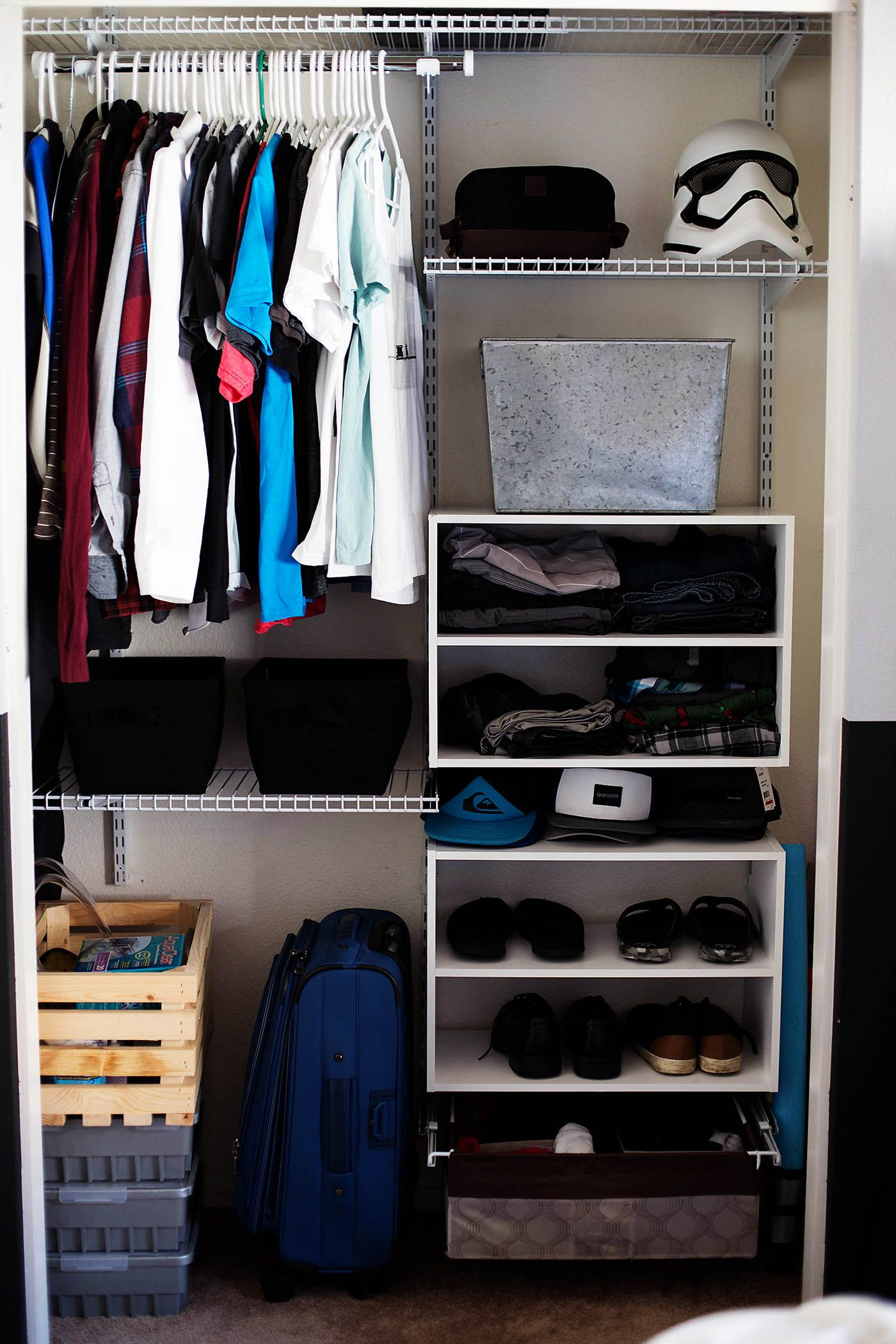 Merveilleux Teen Boy Closet Organization And The Art Of The Clothes Roll