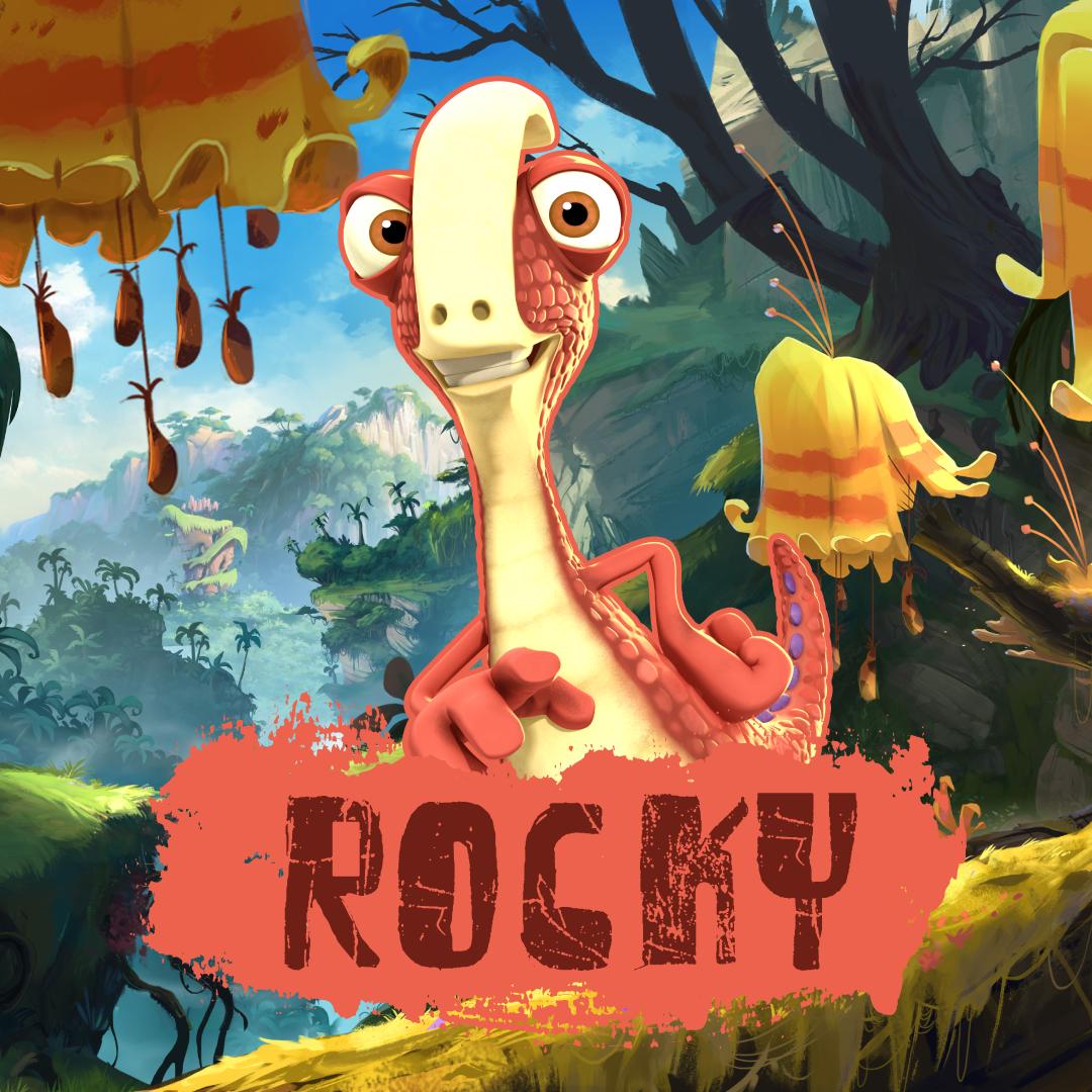 Rocky From Gigantosaurus Disney Junior Dinosaur Pictures Dragon Birthday Parties