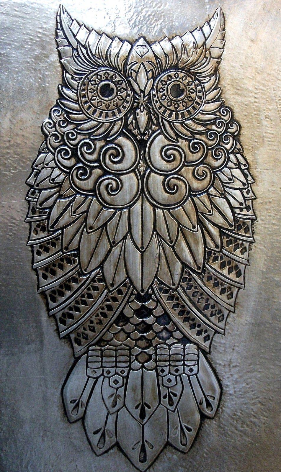 Desenho Para Latonagem Pesquisa Google Aluminum Foil Art Metal Embossing Art Tin Foil Art