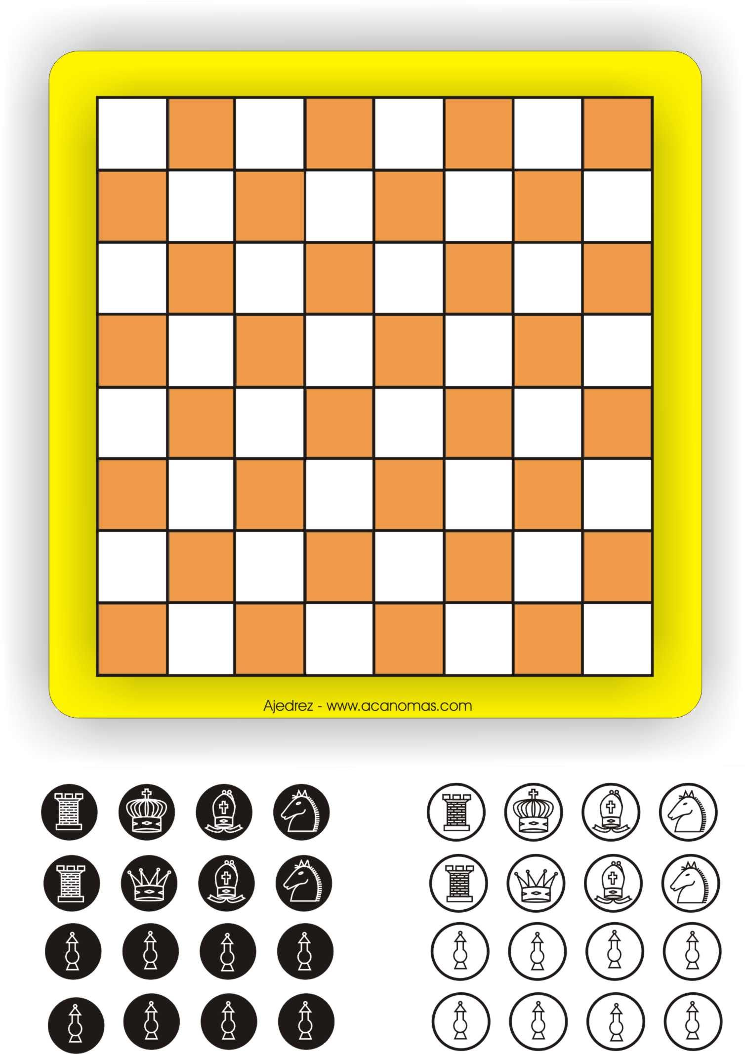 Pin De Cef En Satranc Chess Y Printables