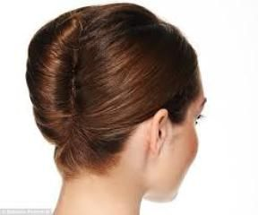 2 Minute Bubble Bun Updo Hairstyles Video Dailymotion French Hair French Twist Hair Up Dos For Medium Hair