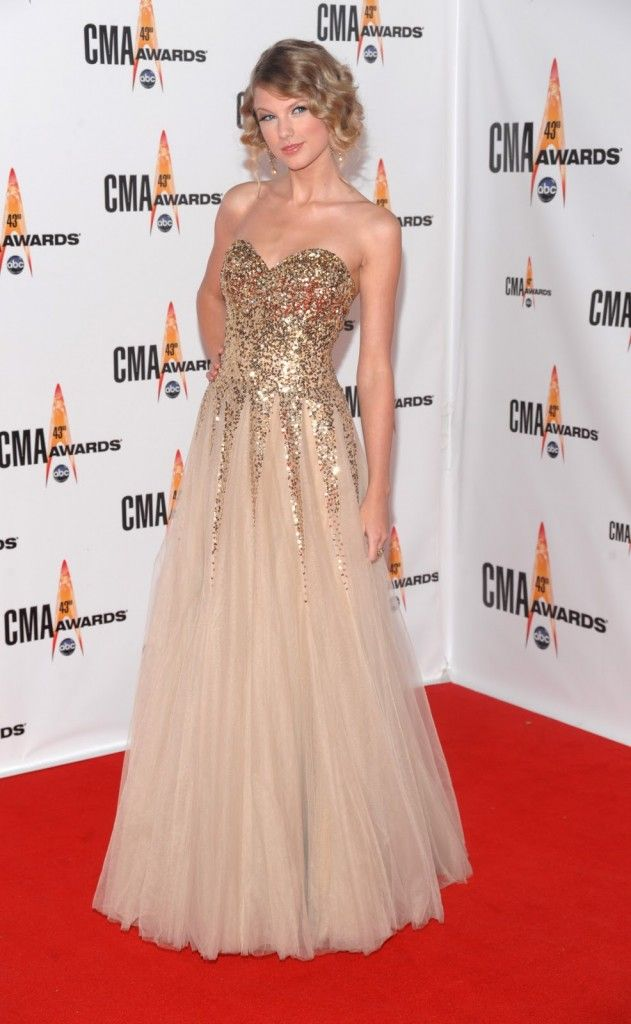 Image detail for -Best Celebrity Dresses of 2012 Taylor Swift Acra Dress – All2Need