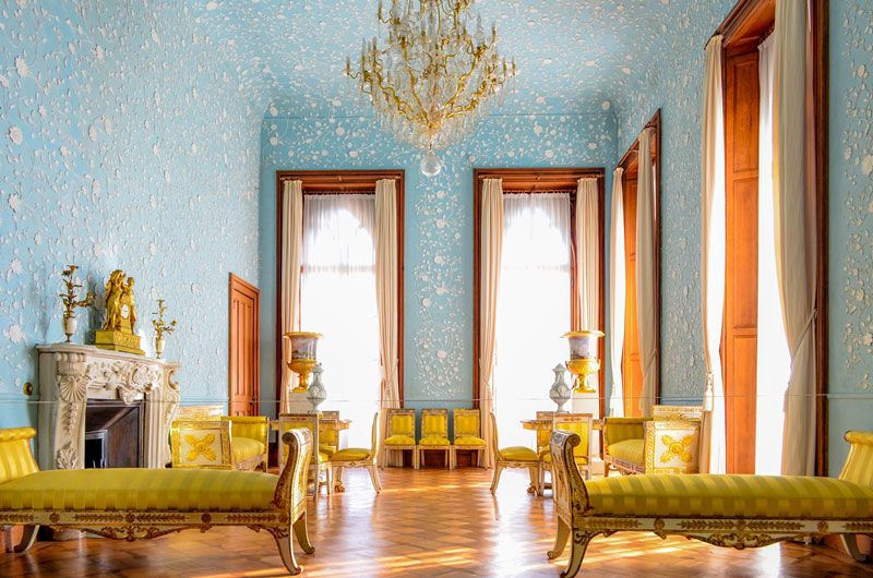 можно воронцовский дворец фото комнат внутри простые