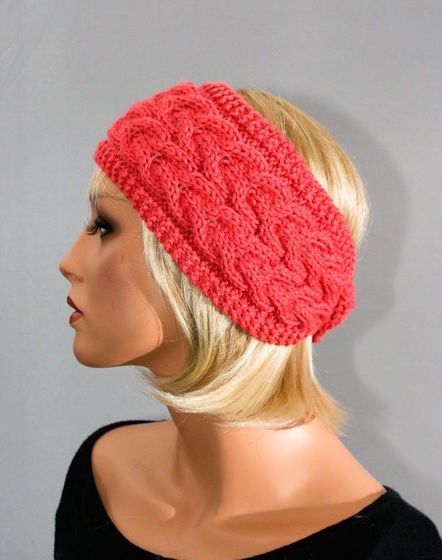 concepteur neuf et d'occasion une grande variété de modèles tout à fait stylé Bandeau, cache-oreilles, headband, pure laine, rose, pour ...