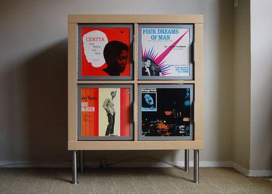 art in the office canvas expedit doors d co pinterest vinyle deco et interieur. Black Bedroom Furniture Sets. Home Design Ideas