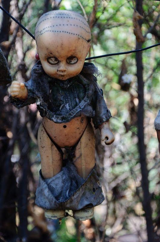 Mexico's Island Of The Dolls (Isla De Las Munecas) Is One